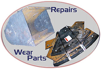 Allentown Steel Fabricators - Repairs/Wear Parts